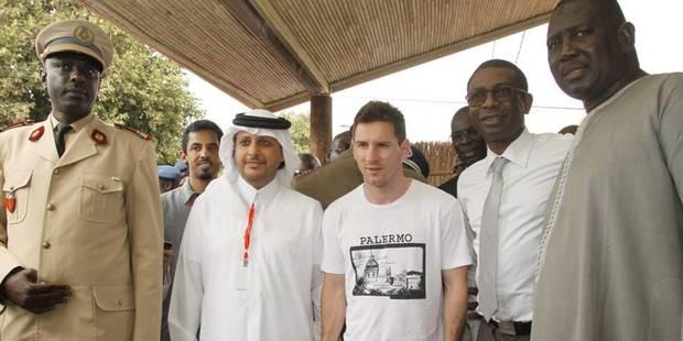 """Visite """"humanitaire"""" de Lionel Messi au Sénégal - La DH"""