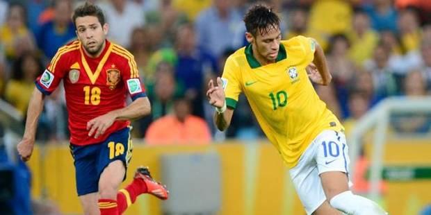 Neymar et Jordi Alba vont passer sur le billard - La DH