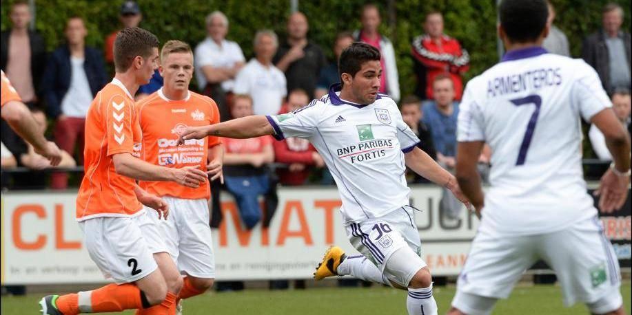 Anderlecht facile à Emmen (0-4)