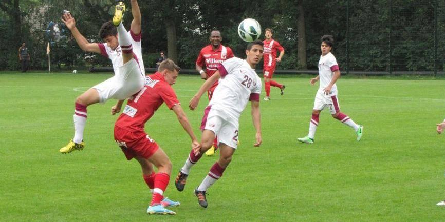 Le match de l'Albert arrêté: les Qataris étaient un peu trop nerveux