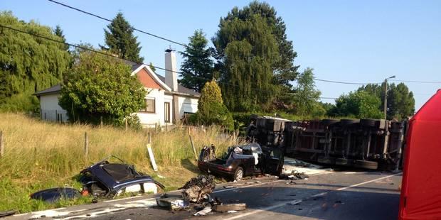 Mère et fils décèdent après avoir percuté un camion - La DH