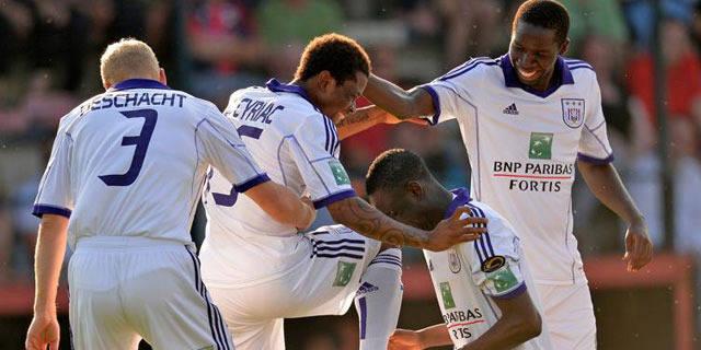 Anderlecht se promène à Walhain (0-5)
