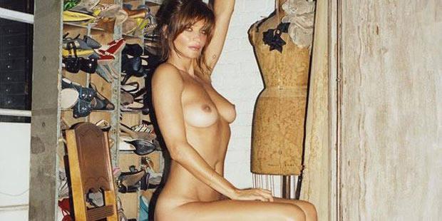 Helena Christensen: une nudité qui ne dérange personne ! - La DH