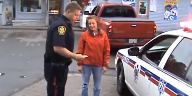Il simule une arrestation pour demander sa compagne en mariage - La DH