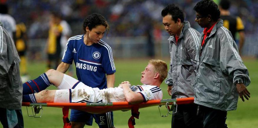Kevin De Bruyne quitte le camp d'entraînement de Chelsea lundi soir