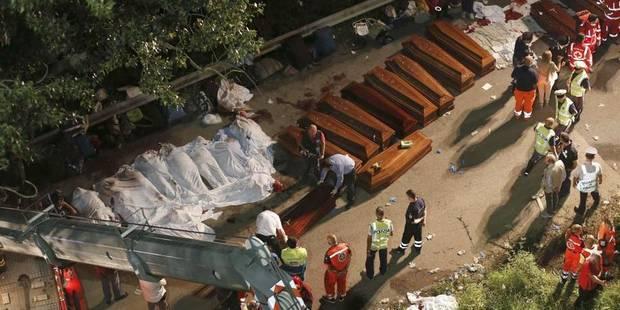 Italie: au moins 39 morts dans l'accident spectaculaire d'un autocar - La DH