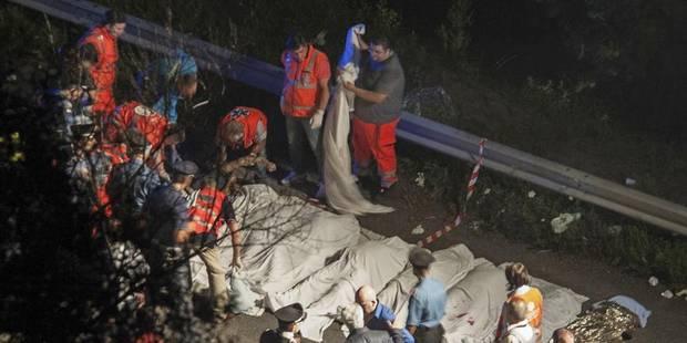 Accident en Italie : le gouvernement belge présente ses condoléances - La DH