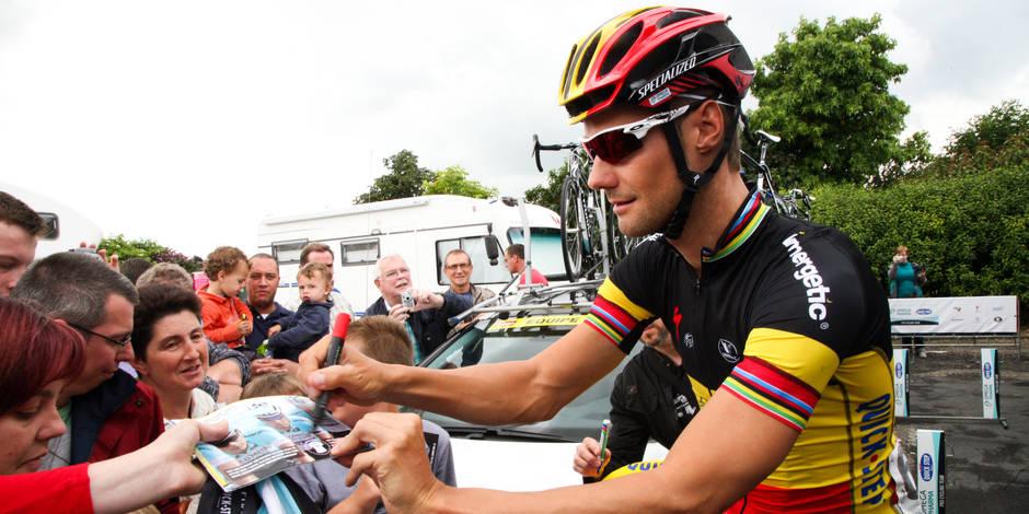Tom Boonen forfait pour l'Eneco Tour
