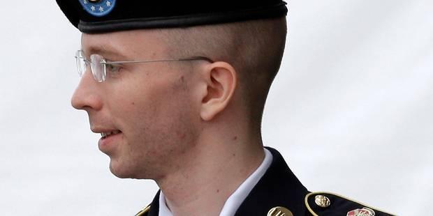 La peine de Bradley Manning passe de 136 � 90 ans