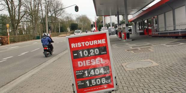 De l'essence moins chère en Belgique? - La DH