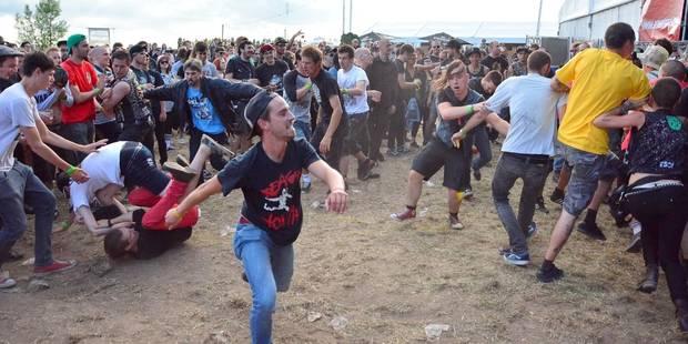 L'Ieperfest a attiré près de 10.000 fans de hardcore - La DH
