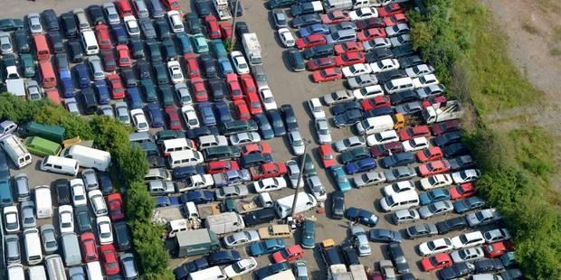 Le parc automobile belge ne cesse de vieillir - La DH