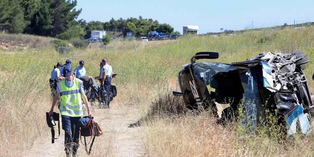 Accident de car en France: le passager examiné par un psychiatre - La DH