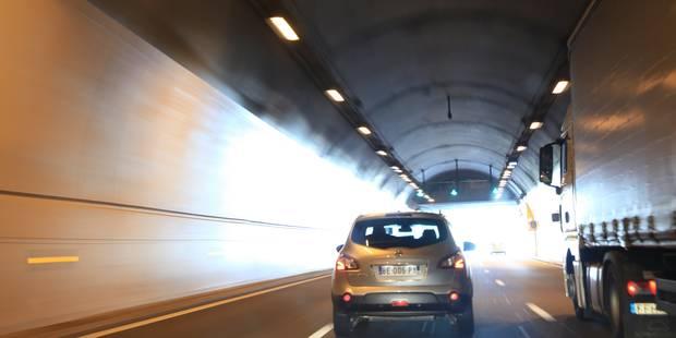 L'excès de vitesse moyen au sortir du tunnel Bailli? 64 km/h! - La DH