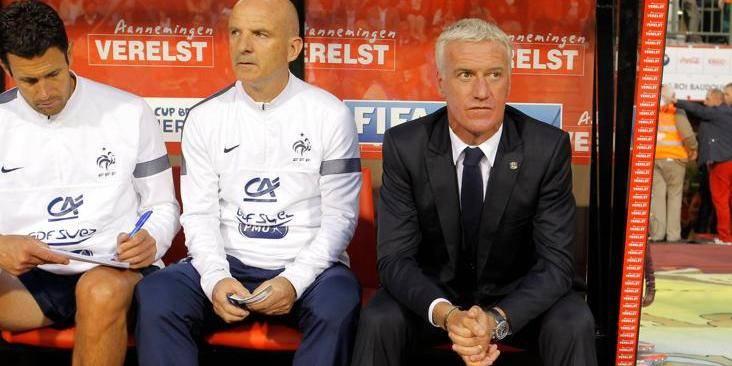 """Deschamps: """"Notre maîtrise du jeu était supérieure à celle des Belges"""""""