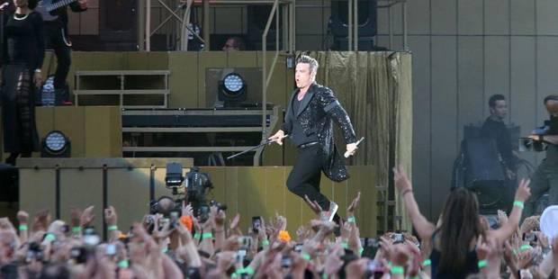 """Robbie Williams et son """"gros pénis"""" - La DH"""