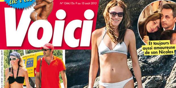 """Carla Bruni """"plus sexy que jamais"""" - La DH"""
