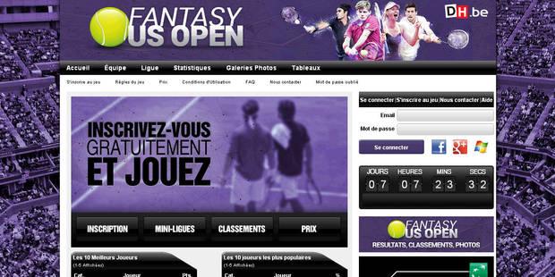 Jouez à Fantasy US Open et gagnez des cadeaux ! - La DH