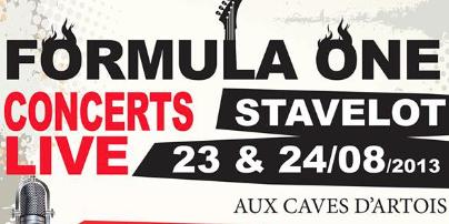 Gagnez 5X2 places VIP pour le Formula One Concert de Stavelot - La DH