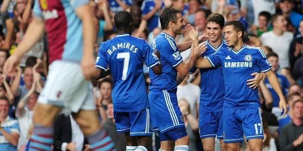 Chelsea vient à bout de Benteke (2-1) - La DH