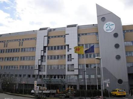Grand hôpital de Charleroi, sur le site de Notre Dame.