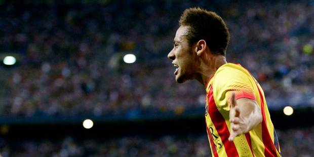 Neymar marque déjà face à Courtois - La DH