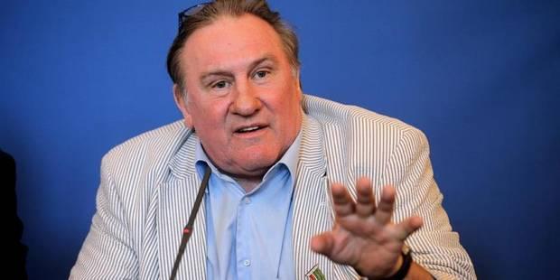 Depardieu prépare sa pendaison de crémaillère à Néchin - La DH