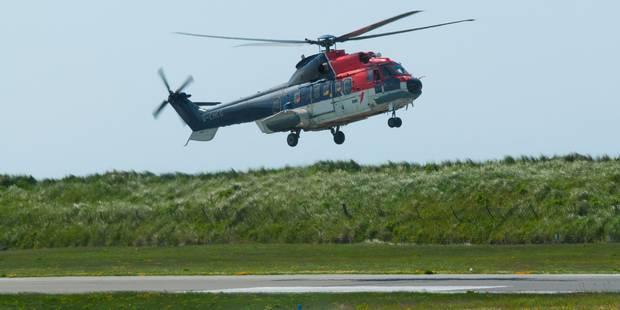 Accident d'hélicoptère en mer du Nord: 4 morts dans un accident d'hélicoptère - La DH