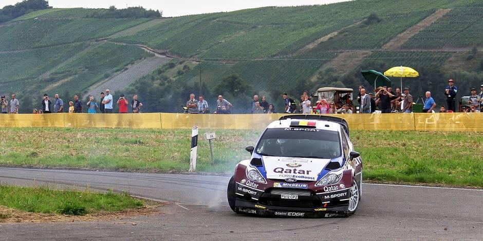 Rallye d'Allemagne: Latvala creuse l'écart sur Neuville
