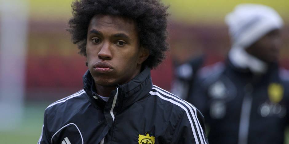 Chelsea va engager Willian (Anzhi) pour 35 millions d'euros