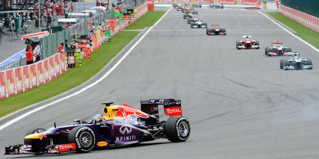 Grand Prix de Belgique: victoire éclatante de Vettel