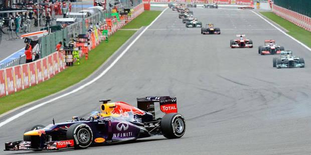 Grand Prix de Belgique: victoire éclatante de Vettel - La DH