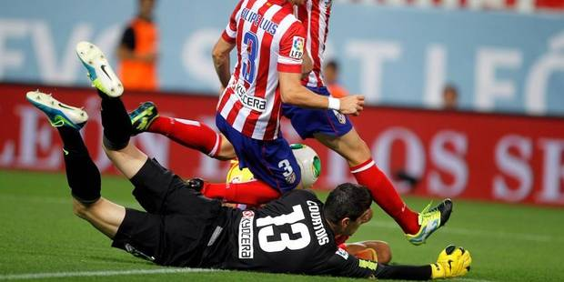 Liga: l'Atletico de Courtois en démonstration - La DH