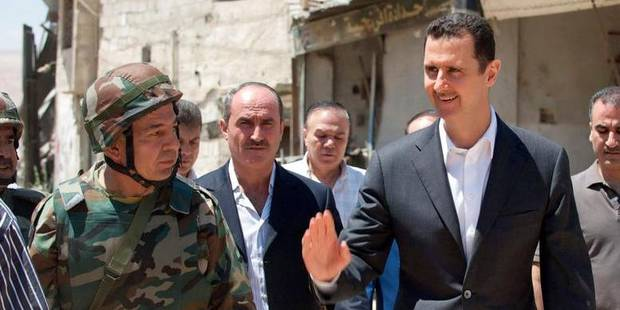 "Bachar Al-Assad juge les accusations occidentales ""insensées"" - La DH"