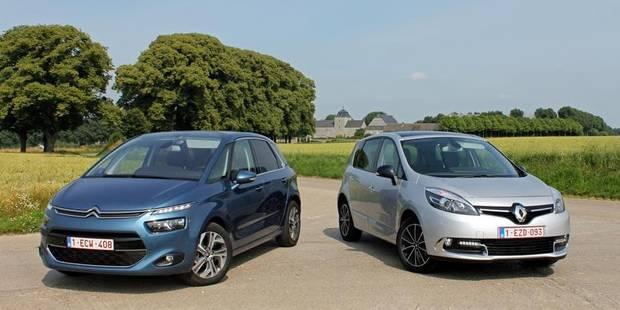Le match de la semaine: Renault Scénic versus Citroën C4 Picasso - La DH