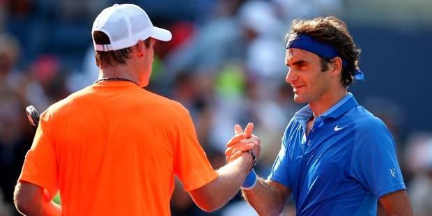 US Open : Roger Federer au 2e tour sans trembler - La DH