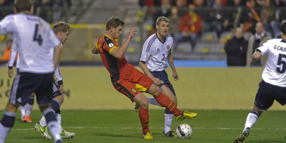 Gordon Strachan fait appel à 27 joueurs pour Ecosse-Belgique