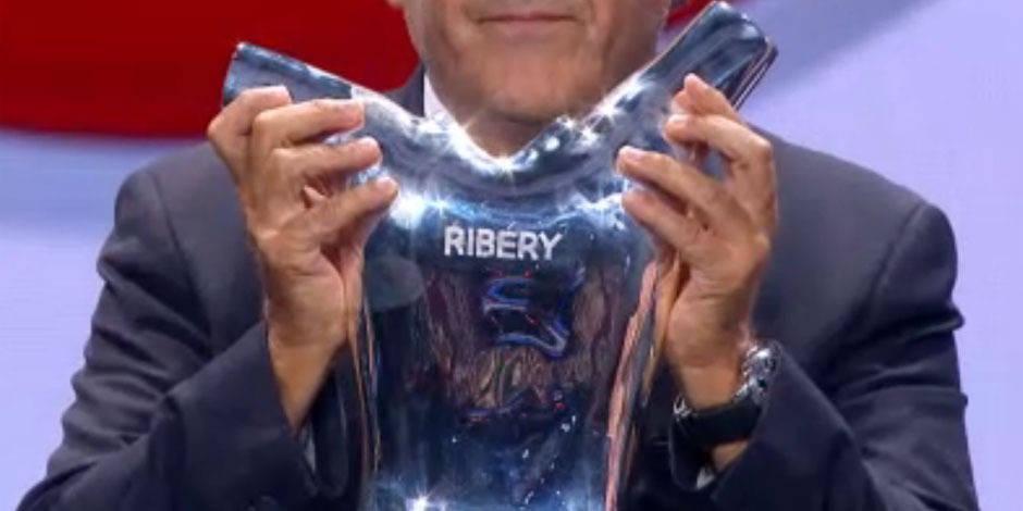 Ribéry joueur UEFA de l'année