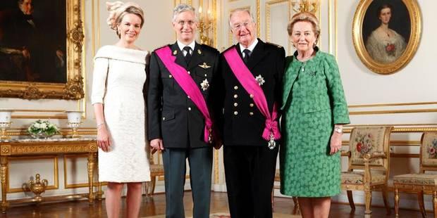 Bpost vendra dès le 2 septembre un feuillet royal représentant Albert et Philippe - La DH