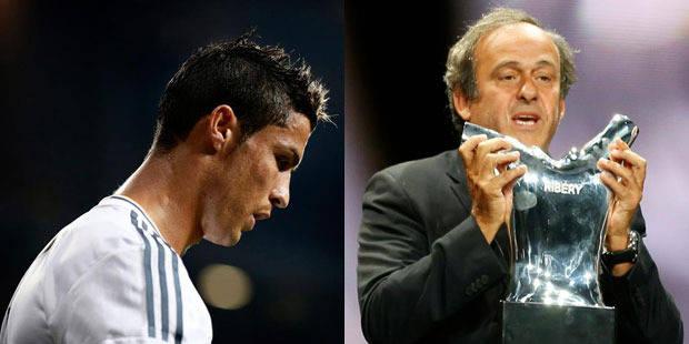 Cristiano Ronaldo fâche Platini