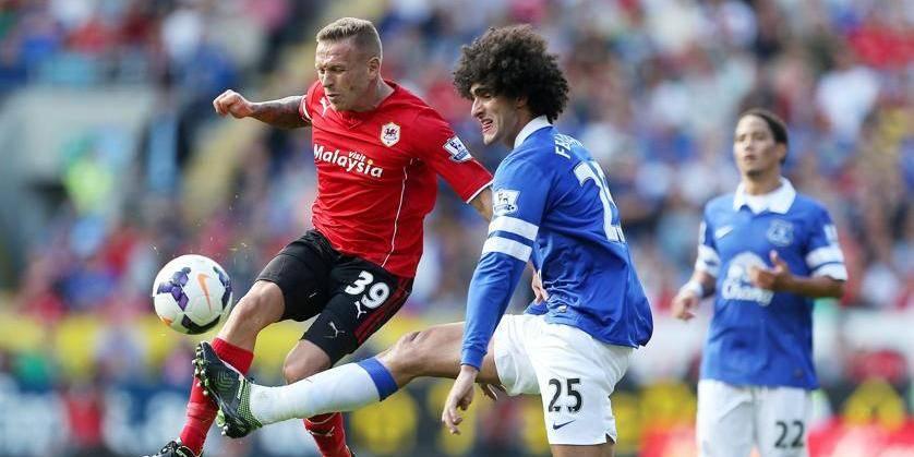 Premier League: troisième partage consécutif pour Fellaini et Mirallas
