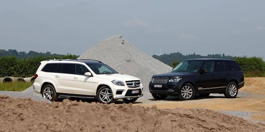 Le match de la semaine: Mercedes GL 350 Bluetec vs Range Rover TDV6