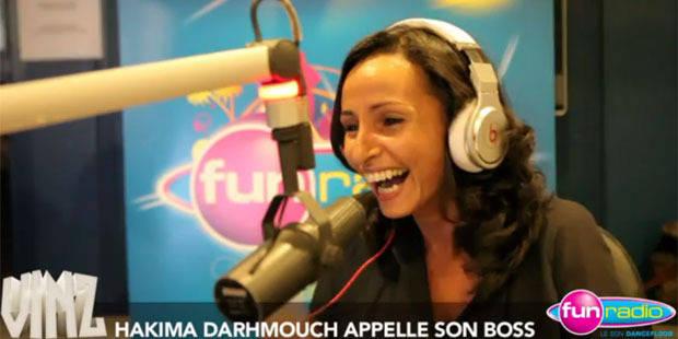 Hakima Darhmouch piège Laurent Haulotte sur Fun Radio - La DH