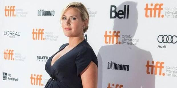 Kate Winslet dévoile son ventre bien rond - La DH