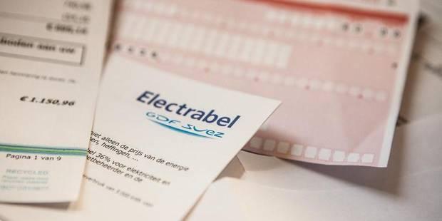 280 euros en moins sur votre facture de gaz et d'électricité - La DH