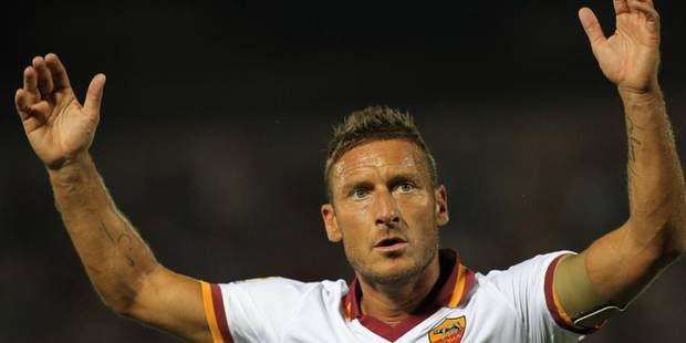 Totti prolonge � l'AS Rome jusqu'en 2016