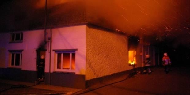 Deux personnes décèdent dans l'incendie de leur maison à Silly - La DH