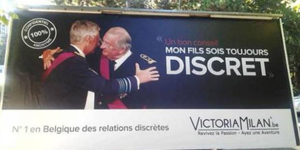 La campagne publicitaire sur Albert et Philippe arrêtée - La DH
