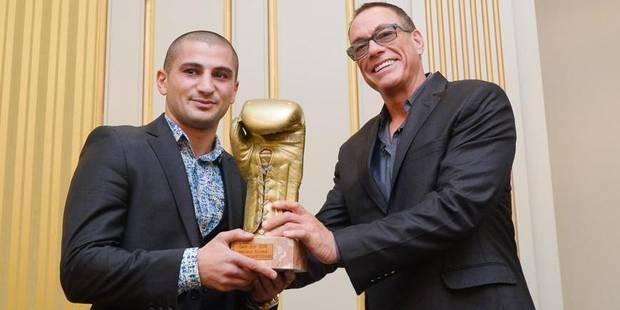 Alex Miskirtchian récompensé par Jean-Claude Vandamme - La DH