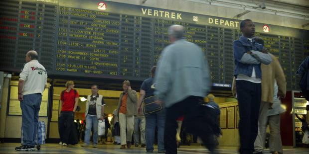 Pas de circulation de train sur la ligne entre Bruxelles et Gand - La DH